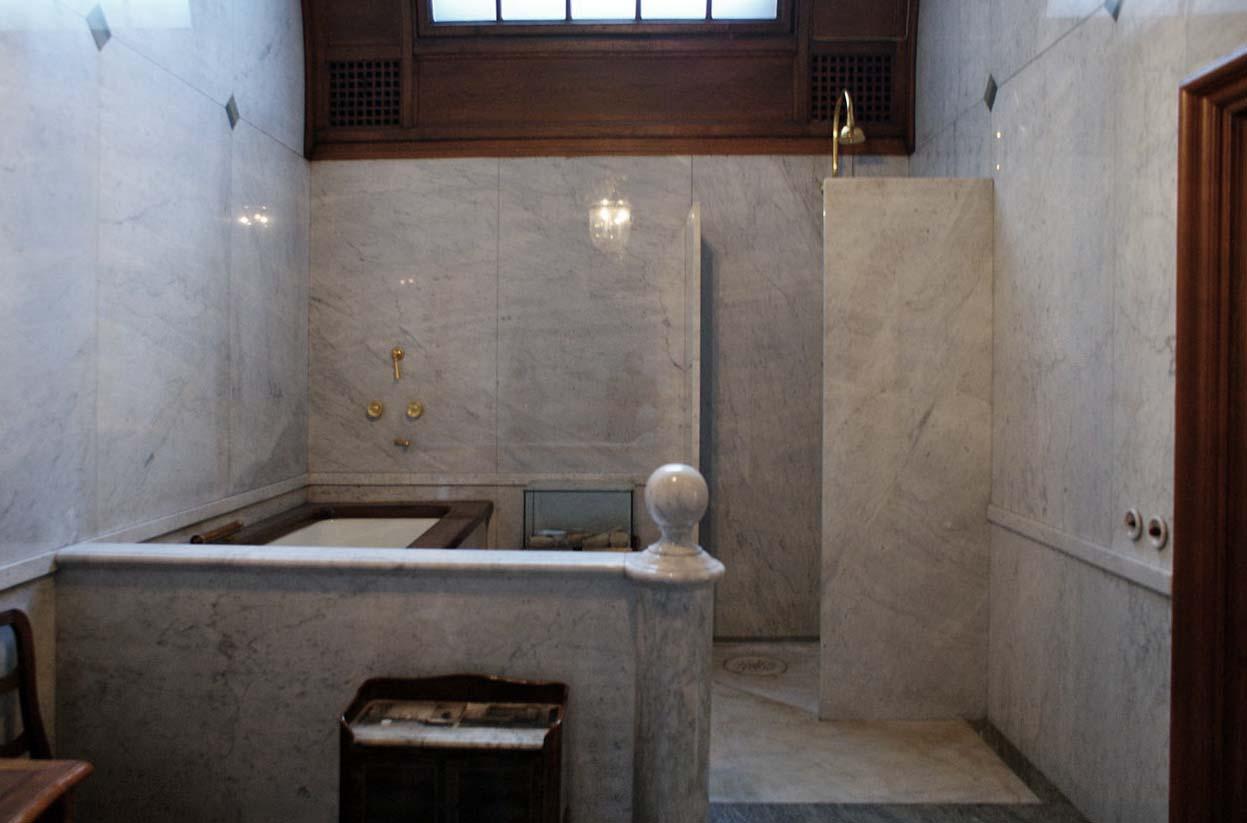 Gamla badrum och nya trender ...